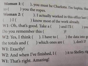 1000時間ヒアリングマラソンのBasic Phoneticsの基本編の問題文